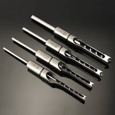 mortising bit. 6.35/7.94/9.5/12.7mm woodworking square hole drill bit mortising chisel 1