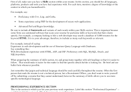 100+ [ Examples Of Resume Skills Section ] | What To Include In A ...