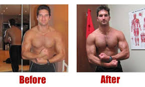 muscle development m and losing excessive fat