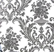 victorian wallpaper. Fine Victorian Amazoncom Wallpaper Victorian Black And White Classic Traditional Damask  Home U0026 Kitchen For N
