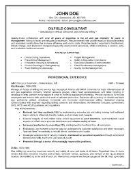 Oilfield Resume Templates Enchanting Oil Field Resumes Oilfield Resume Templates Oil Field Resumes