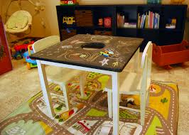 cool diy play tables for a kids room  kidsomania