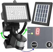 60 LED Solar Security Light  Solar Security Light Solar And LightsSolar Security Flood Light