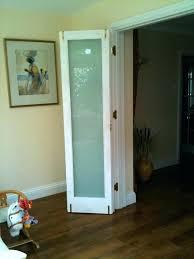 frosted glass bifold doors door improbable door off white bi fold