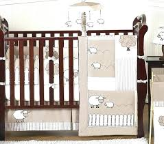 ladybug bedding set for crib baby lamb crib bedding set gender neutral ivory lamb sheep farm