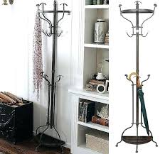 Antique Wall Mounted Coat Rack Fascinating Metal Hall Tree Coat Rack Metal Tree Coat Rack Wall Mounted Coat