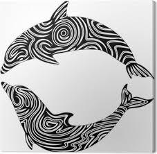 Dolphin Dolphin Tattoo Tattoo Vector