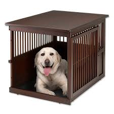 Orvis dog crate furniture Diy Wooden End Table Crate Cool Antarctica Dog Accessories Pet Supplies