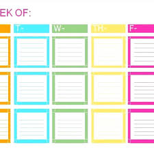 Weekly Checklist Template Word – Francistan Template