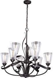 vaxcel h0187 cinta modern oil rubbed bronze lighting chandelier loading zoom