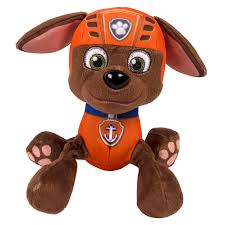 Paw Patrol Deluxe Lights And Sounds Plush Real Talking Rubble Nickelodeon Paw Patrol Plush Pup Pals Zuma Plush Dolls