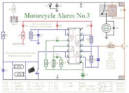 siren circuit security circuits next gr motorcycle alarm ii