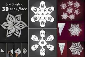 Snowflake Patterns Delectable DIY Snowflake Paper Patterns Home Design Garden Architecture