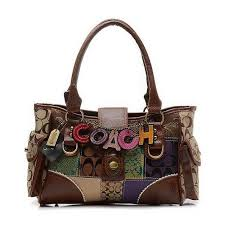 Coach High Quality Coach Holiday Logo Lock Large Coffee Satchels ELK Sale  With High Quality And Inexpensive!   Purses.  )   Pinterest   Holiday logo  ...