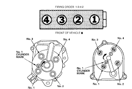 i need a diagram for the ignition firing order for a i need a diagram for the ignition firing order for a