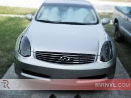 Rtint® Infiniti G35 Coupe 2003-2007 Headlight Tint | Film