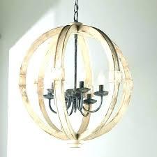 wood light fixtures round fixture orb chandelier rustic wooden14