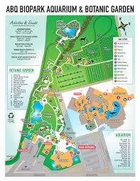 aquarium botanic garden map