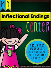 Inflectional Endings | Root words, Worksheets and Language arts