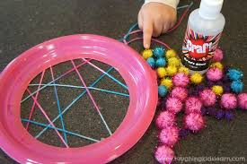 Dream Catcher Craft For Preschoolers Enchanting Simple Dream Catcher Craft For Kids Laughing Kids Learn