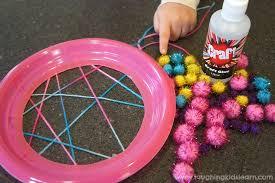 Dream Catcher Craft For Preschoolers Enchanting Simple Dream Catcher Craft For Kids Laughing Kids Learn