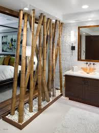 Decoration Elegant Bedroom Separator Ideas For Your Limited Open Bathroom  Design With Natural Room Divider As