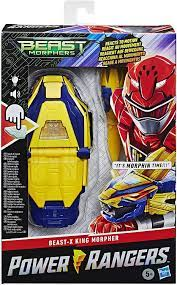 Power Rangers E75385G0 Elektronische Beast Morphers Beast-X King Morpher  Figur Serie inspirierten Lichtern und Sounds: Amazon.de: Spielzeug