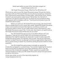 persuasive essay examples grade personal statement paper writers persuasive essay and speech topics k12reader