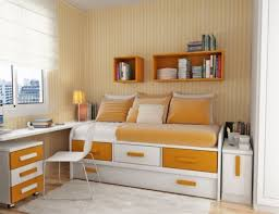 Maximize Small Bedroom Home Design Maximize The Space Using Smart Small Bedroom Storage