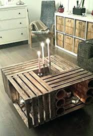 wooden crate box ideas introduction apple crate coffee table wood crate box ideas