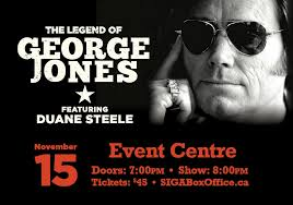 The Legend of George Jones featuring Duane Steele - Painted Hand Casino