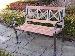 Outdoor Garden Benches Iron Outdoor Metal Garden Bench Riyuu Garden Metal Bench
