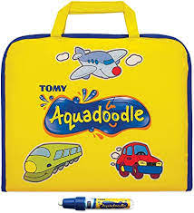 Shop for aqua doodle color mat online at target. Amazon Com Aquadoodle Colour Doodle Bag Travel Water Doodle Mat Official Tomy No Mess Colouring Drawing Game Suitable For Toddlers And Children Boys Girls 18 Months 2 3 4 Year
