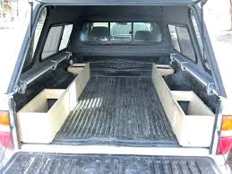 Truck Bed Storage Box Portable Pickup Bed Cargo Box Truck Bed ...