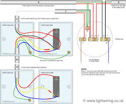2 way switch wiring diagram light wiring two way switching using a 3 wire control shown in the old cable colours