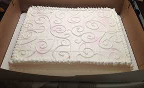 Flat Wedding Cake Designs Wanted To Dress Up A Simple Sheet Cake For A Wedding Topped