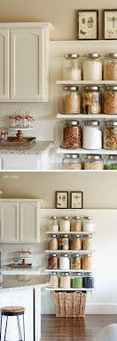 7 shelves for cooking essentials and snacks