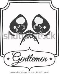 Black White Bathroom Sign Newspaper Style Stock Vector Royalty Free Interesting Bathroom Sign Vector Style