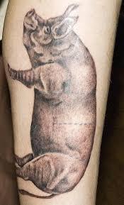 Motiv Tetování Na Lýtko 7