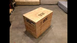 how to build an easy 3 in 1 crossfit jump box with a single sheet of plywood