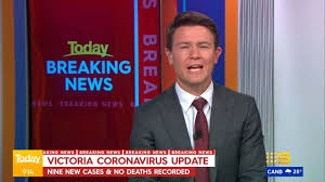 We're all behind victoria today, because it could easily have been our state instead. 9 News Melbourne Victoria Coronavirus Update Facebook