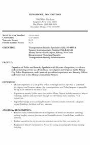 Security Guards Resume New Security Guard Resume Template For Free Formatted Templates Example