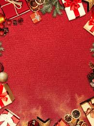 Gifts Background Christmas Gift Border Red Background Christmas Gifts Frame