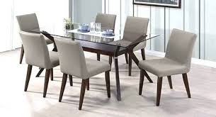 dining table set glass top retro round wooden with rectangular and round glass top dining table