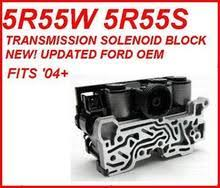 5r55n 5r55s 5r55w transmission parts rebuild kits ford 9l2z 7g391 a 5r55s 5r55w transmission solenoid block updated original equipment