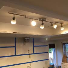 Box Fluorescent Light Old Fluorescent Light Box Is Now Planked And New Led Fixture