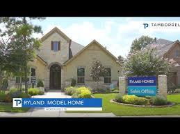 ryland model homes at woodforest tx