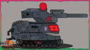 Cách vẽ Đấu sĩ chiến đấu Безликий + E100   Phim hoạt hình về xe tăng -  YouTube