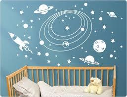 Lovely Wandtattoo Kinderzimmer Weltall