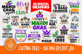All contents are released under creative commons cc0. Mardi Gras Quotes Cut Files For Crafters Mardi Gras Svg 457748 Cut Files Design Bundles